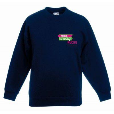 Bluza taneczna kolor ciemnogranatowy (AZ)