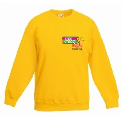 Bluza taneczna kolor ciemnożółty (34)
