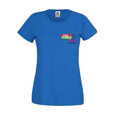 Koszulka damska kolor ciemnoniebieski 51