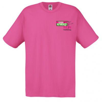Koszulka męska kolor fuchsia 57