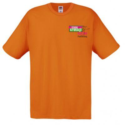 Koszulka męska kolor pomarańczowy 44