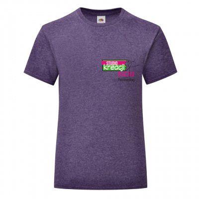 Koszulka taneczna kolor heather purple (HP)