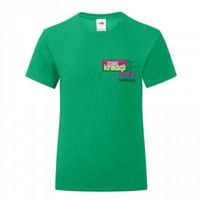Koszulka taneczna kolor kelly green