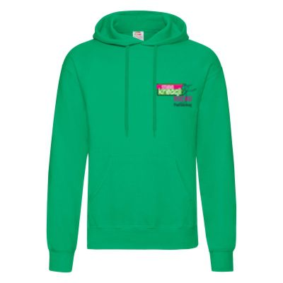 Męska bluza z kapturem classic kelly green 47