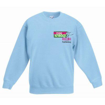 Bluza taneczna kolor błękitny (YT)