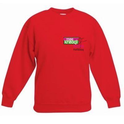 Bluza taneczna kolor czerwony (40)