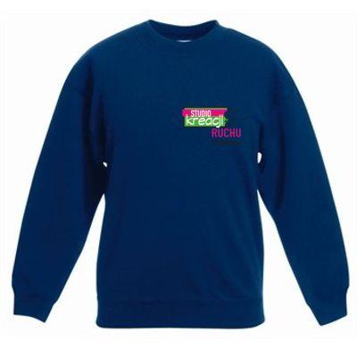 Bluza taneczna kolor granatowy (32)