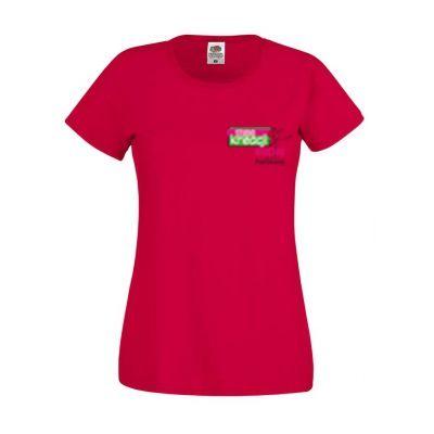 Koszulka damska kolor czerwony 40