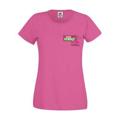 Koszulka damska kolor fuchsia 57