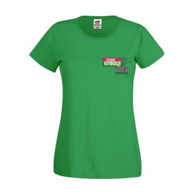Koszulka damska kolor kelly green 47