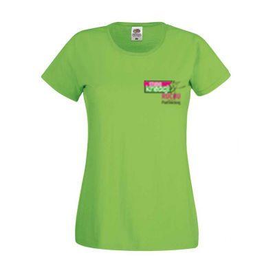 Koszulka damska kolor limonkowy LM