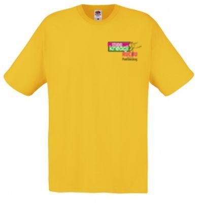 Koszulka męska kolor ciemnożółty 34