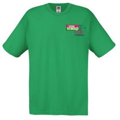 Koszulka męska kolor kelly green 47