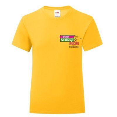 Koszulka taneczna kolor ciemnożółty (34)