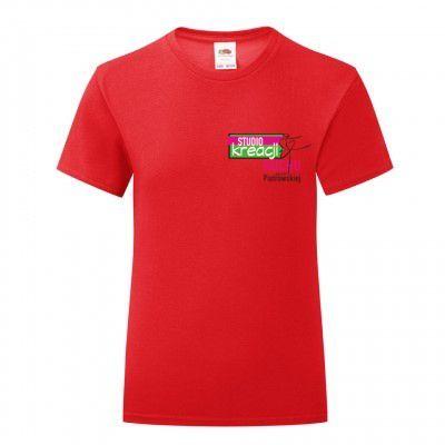Koszulka taneczna kolor czerwony (40)